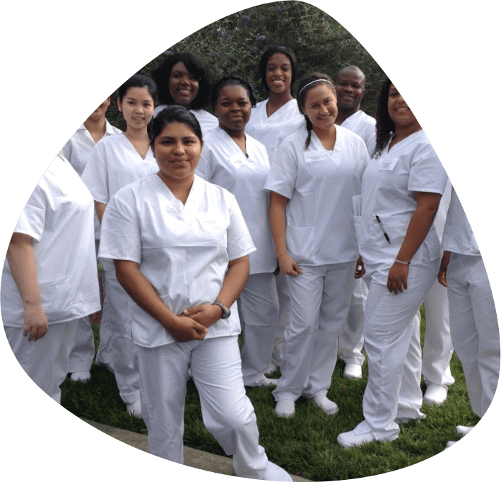 group of nurses in white uniform
